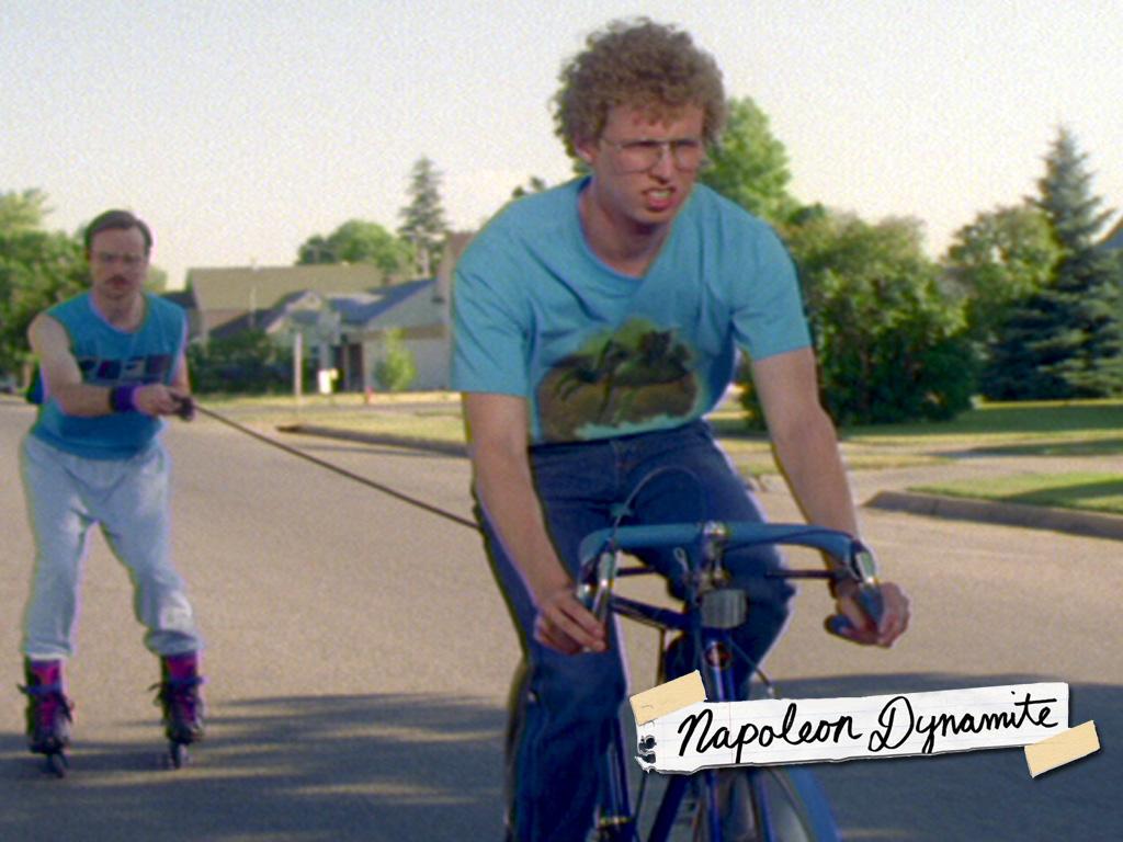 Napoleon gives Kip a pull in Kip Napoleon Dynamite Gif